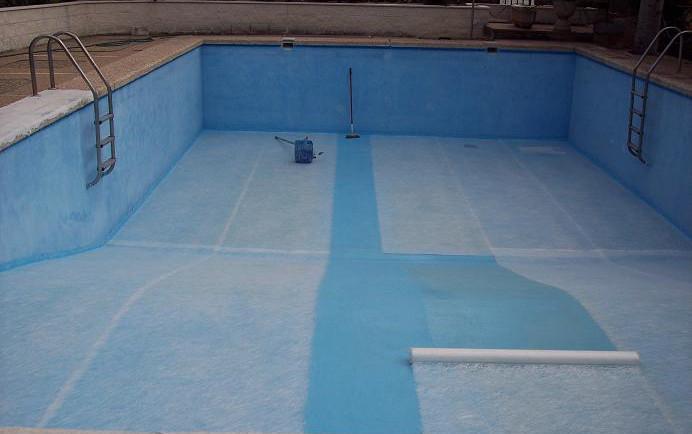 Fibromat piscinas for Recubrimientos para piscinas